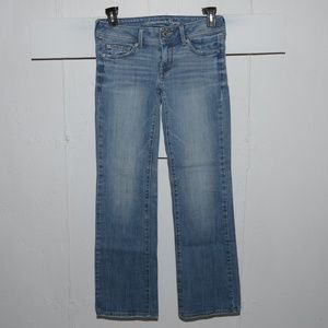 American eagle slim boot womens jeans sz 6 R 7602